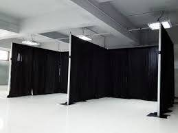 10X10 Pipe & Drape Continous Booths