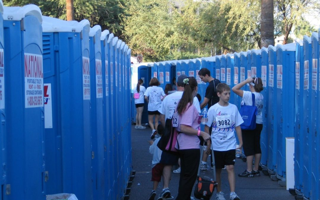 The sanitation equipment you'll need for your outdoor event