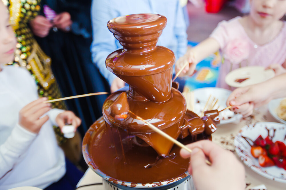 5 simple tips when using a chocolate fountain