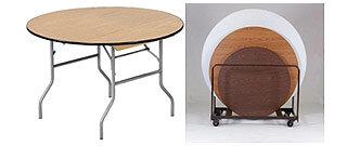 Round Folding Legs Tables