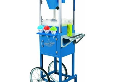 Snow Cone maker & Display Cart