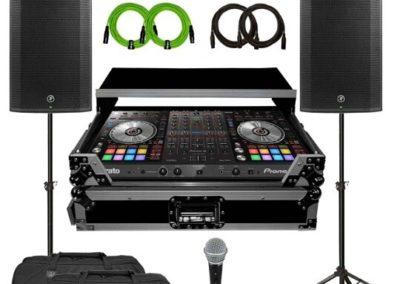 DJ & PA System 4 Speakers