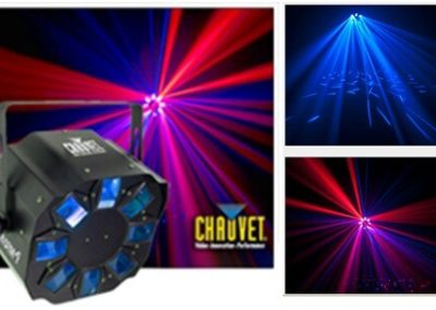 Effects Lighting: 4-colored effect light