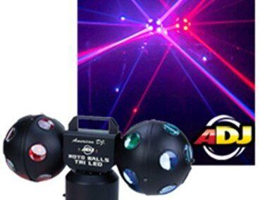 Effects Lighting: Rotoballs Tri LED