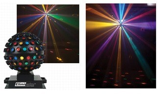 Effects Lighting: Multi-colored rotating ball