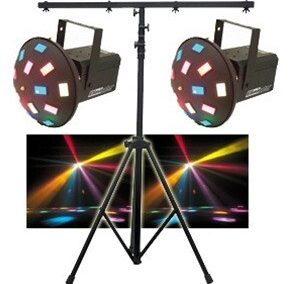 Lighting Stand with 3-foot T cross bar (Black)