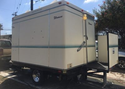 VIP trailer deluxe with 4 units