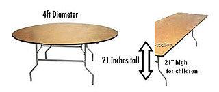 Children folding legs Tables