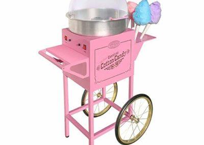 Cotton Candy maker & Display Cart