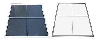 Portable Dance Floors for any surface (3'x4' sections) – Vinyl White/Black