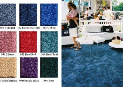 Temporary standard Carpet floor indoor/outdoor ideal for big tent's floor