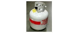 Full Standard 20lb Propane Gas Tank