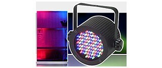 This ELECTRO 86 WASH PAR CAN make colorful and dynamic light scenery effects.