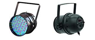 LED Par64 Black Aluminum Can