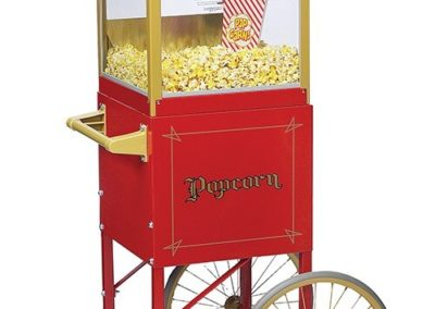 Popcorn Popper & Display Cart