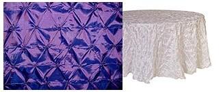 BELLY BUTTON TAFFETA round tablecloths