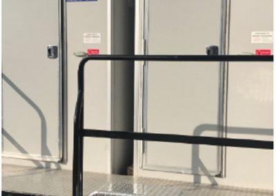 VIP Trailer with 2 Single VIP units portable toilets