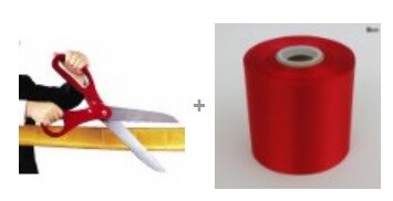 Ribbon Cutting Scissor