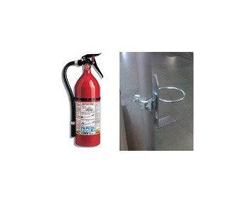 Fire Extinguishers & Holder