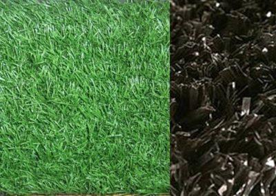 Turf (fake carpet)  black color or lawn green color