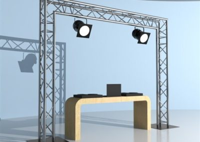 Step & Repeat Standing Truss