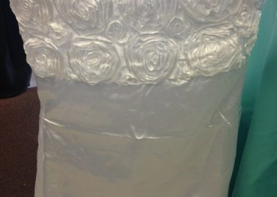Chair Covers that does not use Bow/Sashes